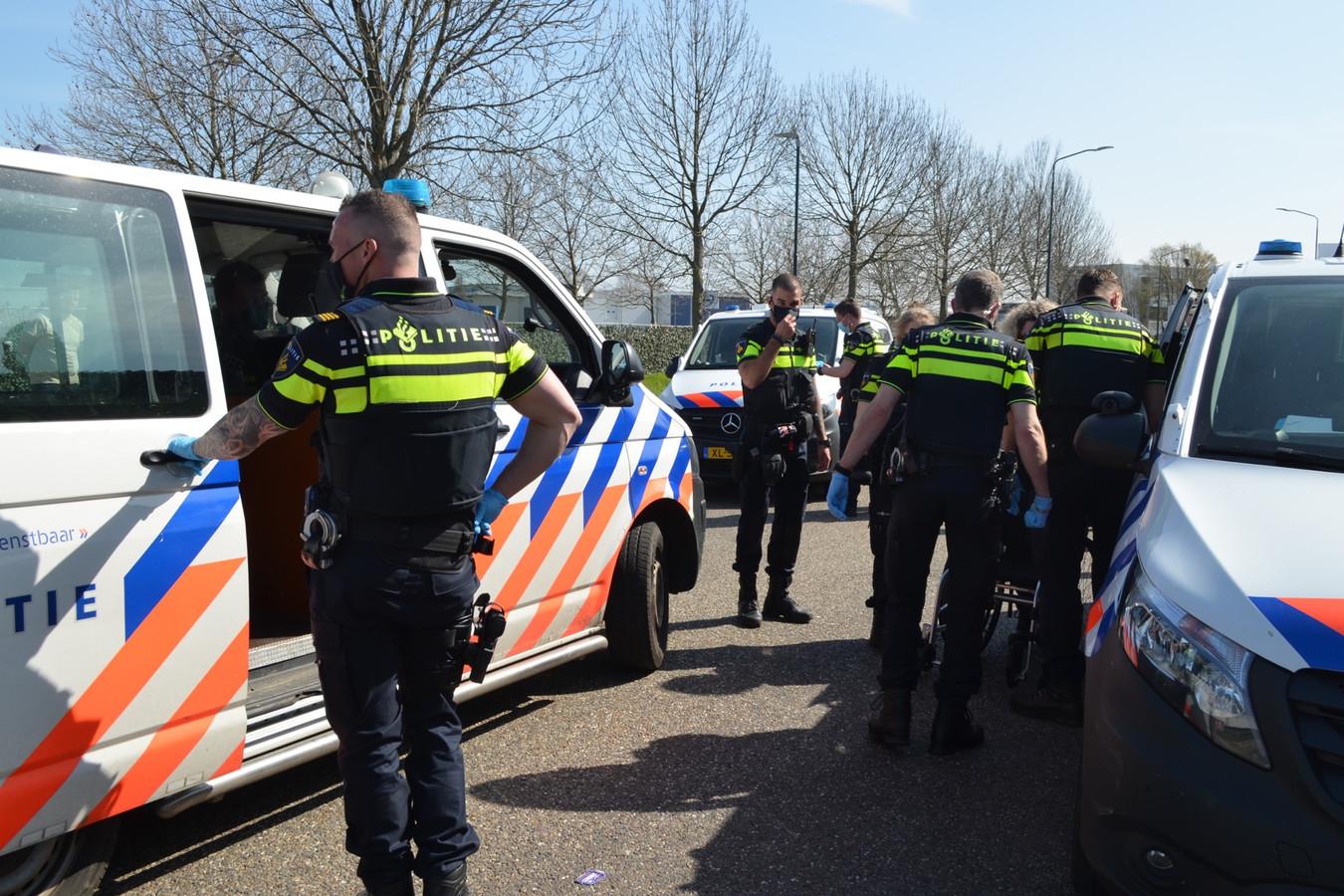 Actievoerders gearresteerd bij VION in Boxtel.