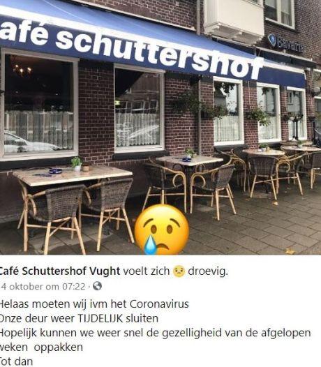 Café Schuttershof net open en nu alweer dicht: 'Balen, maar gezondheid gaat boven alles'