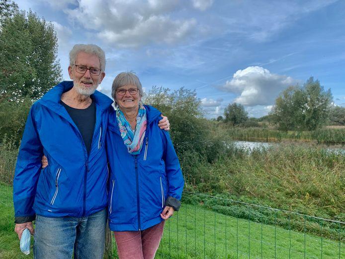 Christiaan en Baukje Botter (75) uit Friezenwijk bij Heukelum.