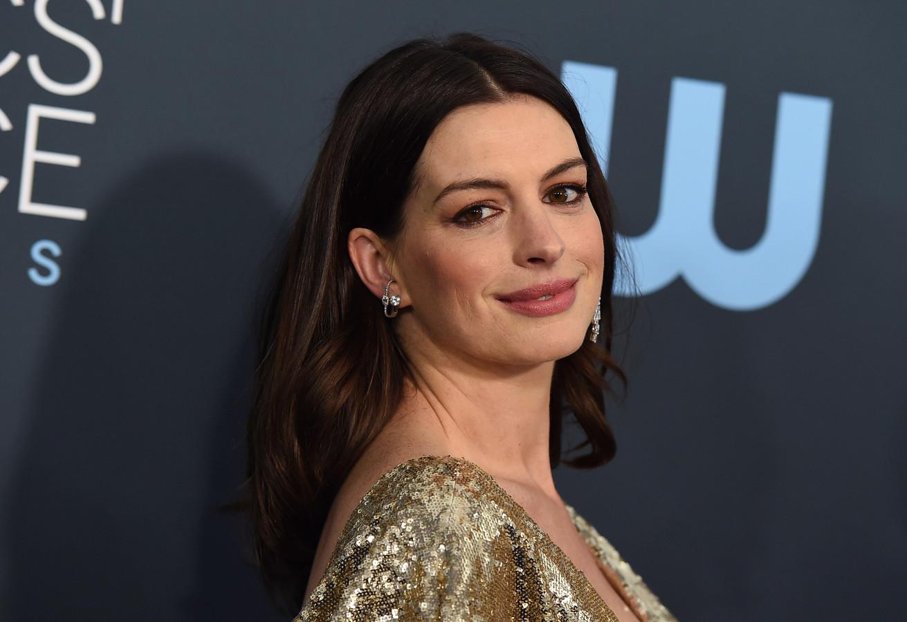 """Anne Hathaway avait joué le rôle principal dans le blockbuster """"Interstellar""""."""