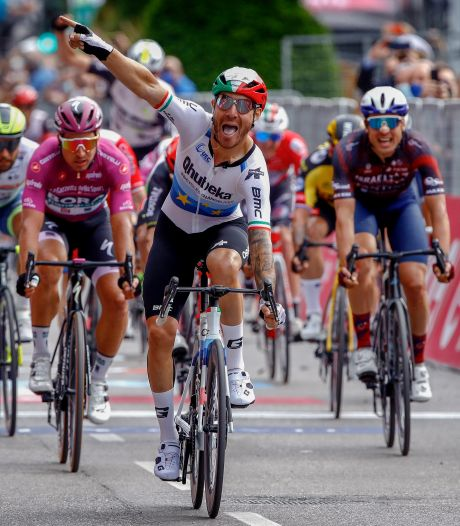 Nizzolo wint na bizarre reeks tweede plaatsen eindelijk een rit, Groenewegen komt tekort