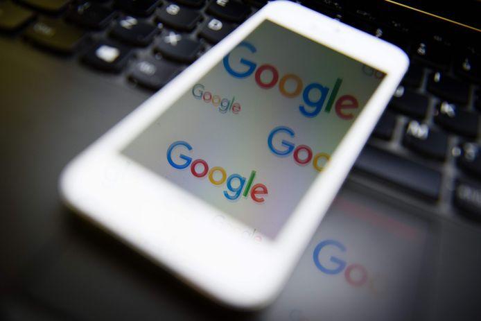 Het logo van Google