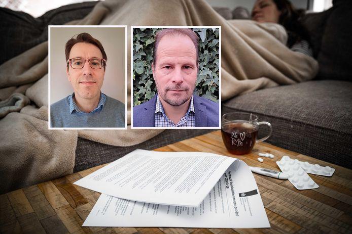 Inzet: Wetenschappers Geert Keetels en Bas van de Wiel waarschuwen: Gooi die luchtvochtigheid in huis omhoog ter voorkoming van corona.