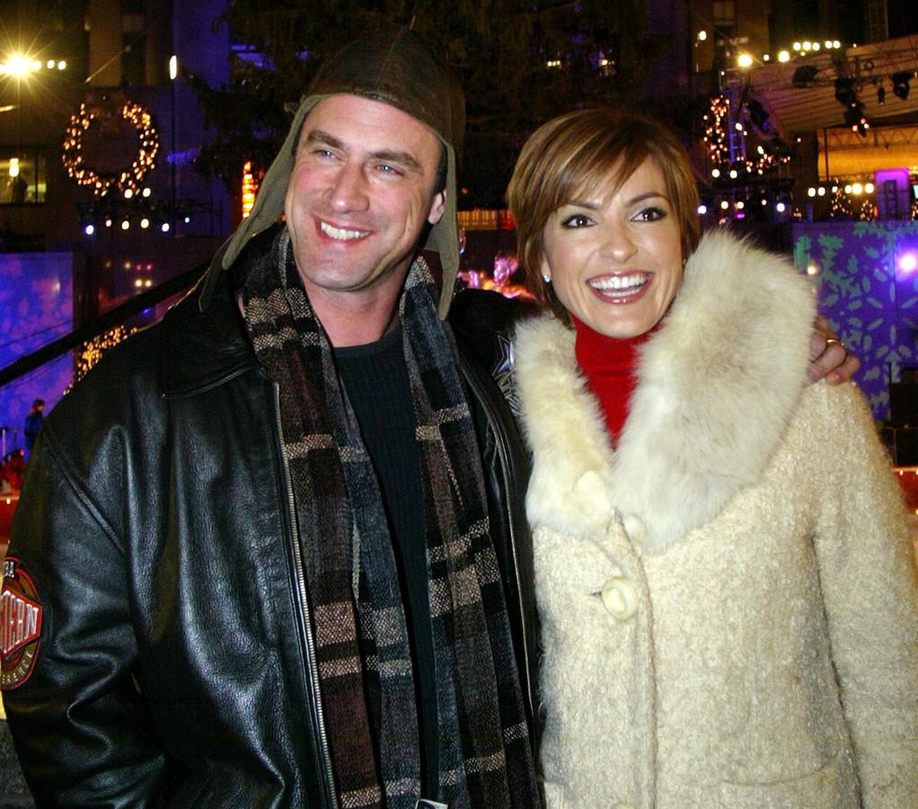 Christopher Meloni en Mariska Hargitay in 2003