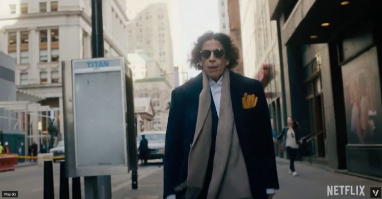 De eigenzinnige auteur Fran Lebowitz in 'Pretend it's a city'. Beeld Humo