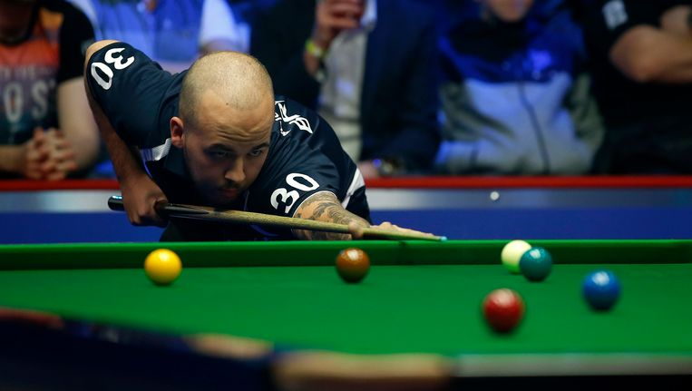 Luca Brecel. Beeld Photo News