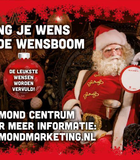 Helmond krijgt speciale kerstwensboom op de Markt