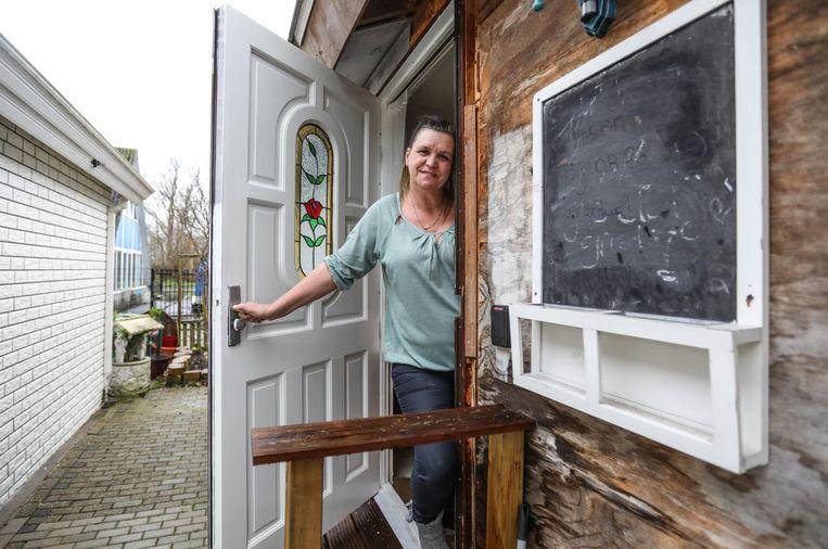 Grietje Bouw heeft een aneurysma van 4,5 centimeter in haar hoofd. 'Ik ben een wandelende tijdbom.' Beeld Eva Plevier