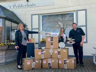 Horecagroothandel schenkt 500 nieuwe borden aan 't Polderhuis
