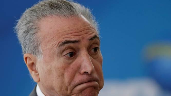 Braziliaanse president ontkent corruptie