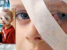 Loombandjes niet zonder gevaar, jongetje raakt blind