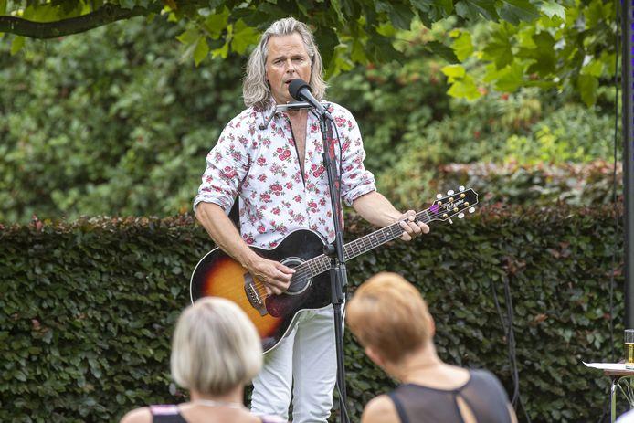 Erwin Nyhoff vorig jaar zomer in Den Ham.