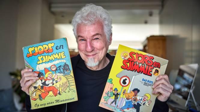 Robert tekent Sjors en Sjimmie: 'Dikke lippen, grote oorbellen… Sjimmie is allang geen Zwarte Piet meer'