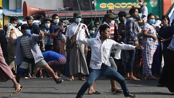 Leger Myanmar verbannen van Facebook na staatsgreep