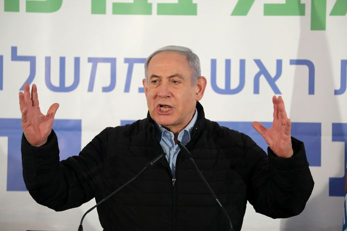 Minister-president Benjamin Netanyahu