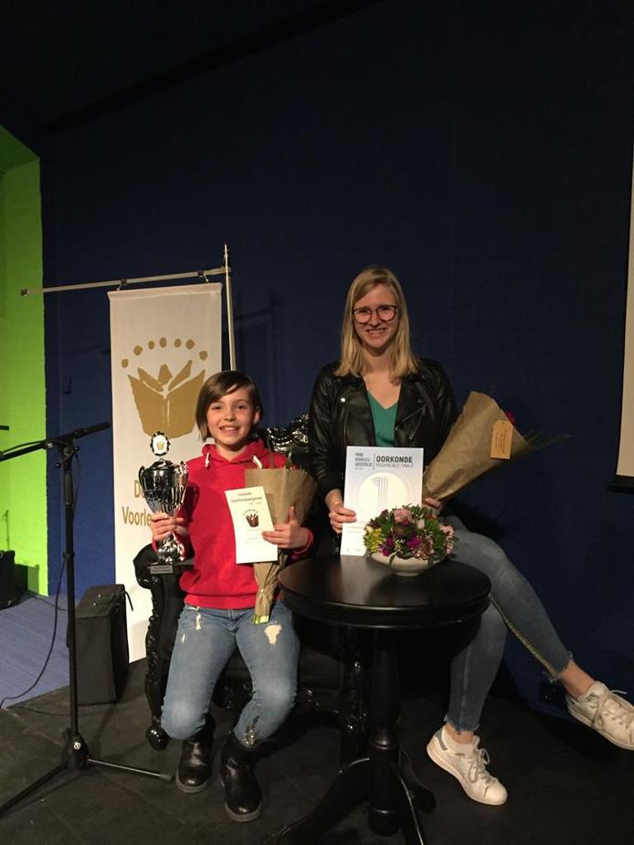 Emma Pattenier (links) en Eva Lobbezoo.