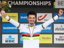 Wereldkampioen Alaphilippe: 'Belgische fans motiveerden me'