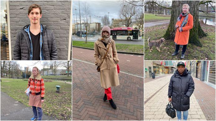 De Gelderlander maakte een rondgang op straat in Arnhem, en sprak de meerderheid die binnenblijft en de avondklokregels volgt.