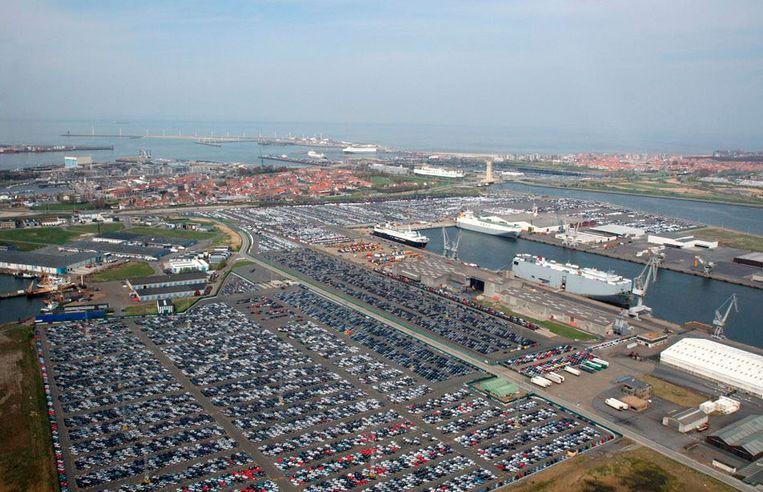 De brexit zal een zware impact hebben op de activiteiten in de haven van Zeebrugge.