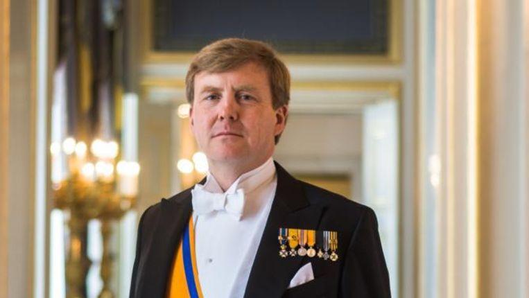 Staatsieportret van de koning. Beeld RVD, Koos Breukel