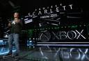 Phil Spencer, l'homme à la tête de la Xbox, lors du live de Los Angeles, le 9 juin.