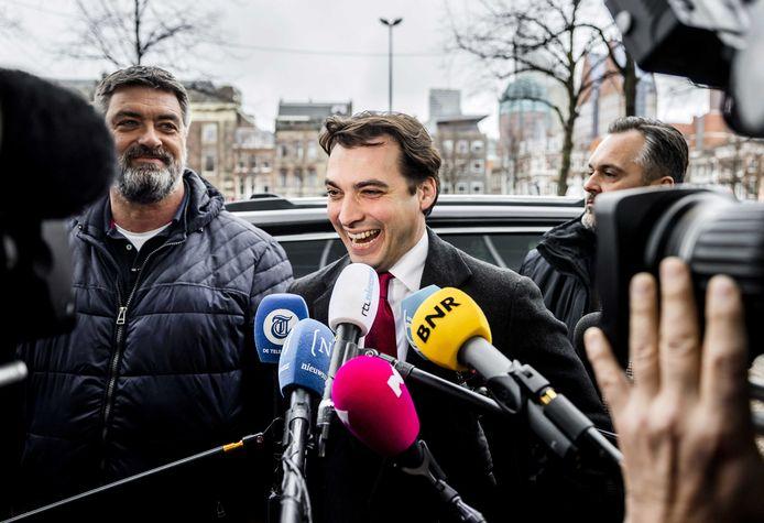 Lijsttrekker Thierry Baudet van Forum voor Democratie.