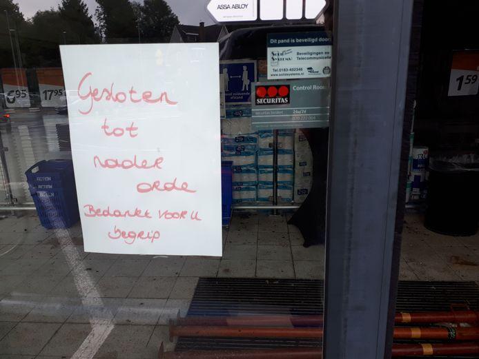 Geraardsbergen: De winkel blijft tot nader order gesloten.