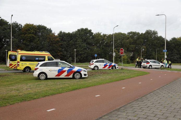 Een fietser raakte dinsdagochtend gewond bij een aanrijding in Raalte.