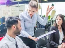 Kleineren en belachelijk maken: medewerkers durven nauwelijks voor zichzelf op te komen tegenover nare baas