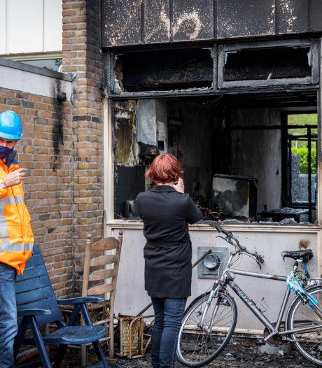 Bewoner uitgebrand huis Steenwijk ongedeerd, maar vermoedelijk veel van zijn spullen kwijt
