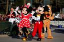 Mickey en Minnie Mouse hebben er vast zin in.