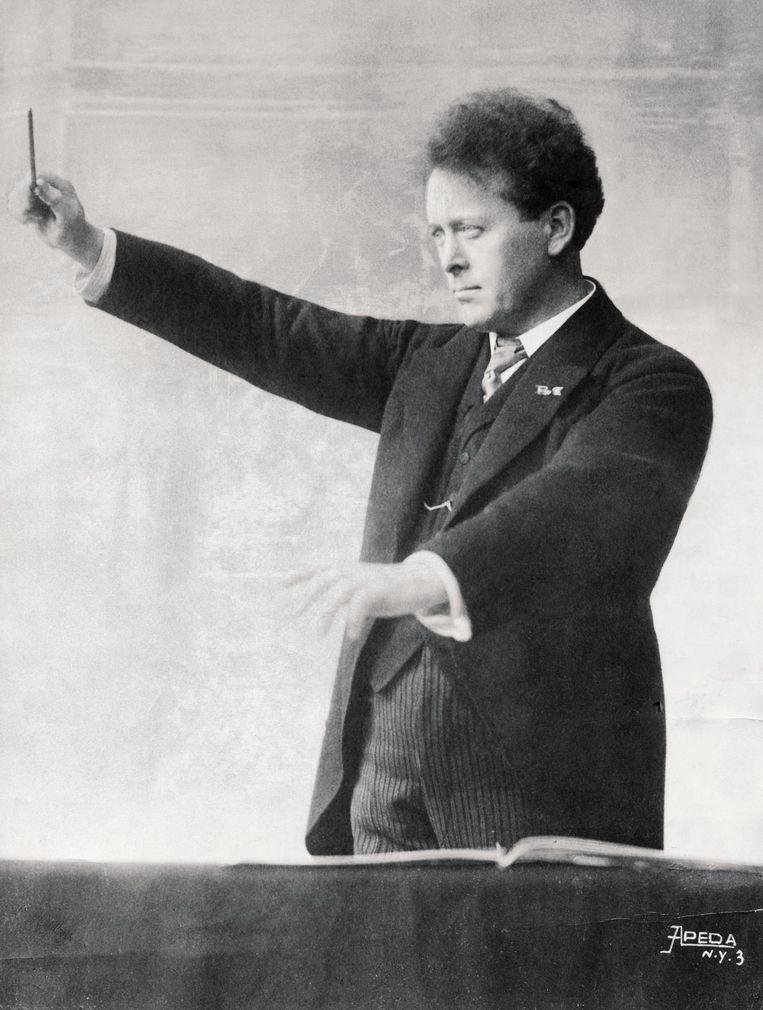 Willem Mengelberg in de jaren twintig Beeld Spaarnestad/HH