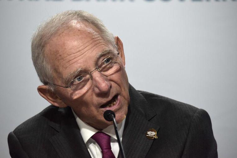 Wolfgang Schäuble. Beeld anp