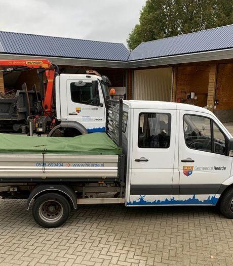 Inbrekers slaan toe op gemeentewerf Heerde; bus en alle gereedschap weg