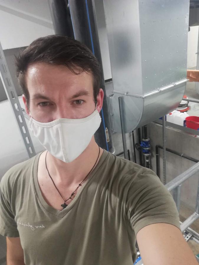 Rodney Vanderheyden et une trentaine de personnes se sont cachées dans la cave d'un restaurant lors de l'attaque terroriste qui a frappé Vienne lundi soir.