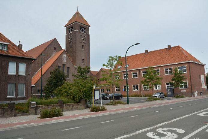 De kerk van Beke.