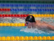 Louis Croenen améliore d'un dixième son record de Belgique du 100m papillon en séries