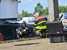 Tankers pompen drijvend drugslab leeg: 'Schip blijft voorlopig in Moerdijk'