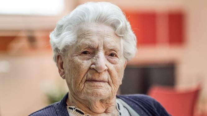 """106-jarige Godelieve Voet overleeft corona: """"Ik voel me uitstekend en ben blij dat ik nog leef"""""""