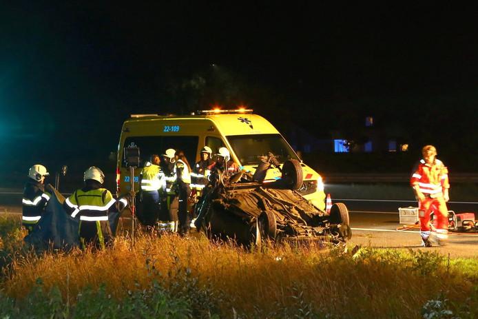 Dodelijk ongeluk op A50 bij Sint-Oedenrode