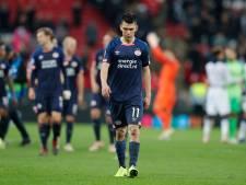 PSV lijdt zure nederlaag op Wembley en is uitgeschakeld in Champions League