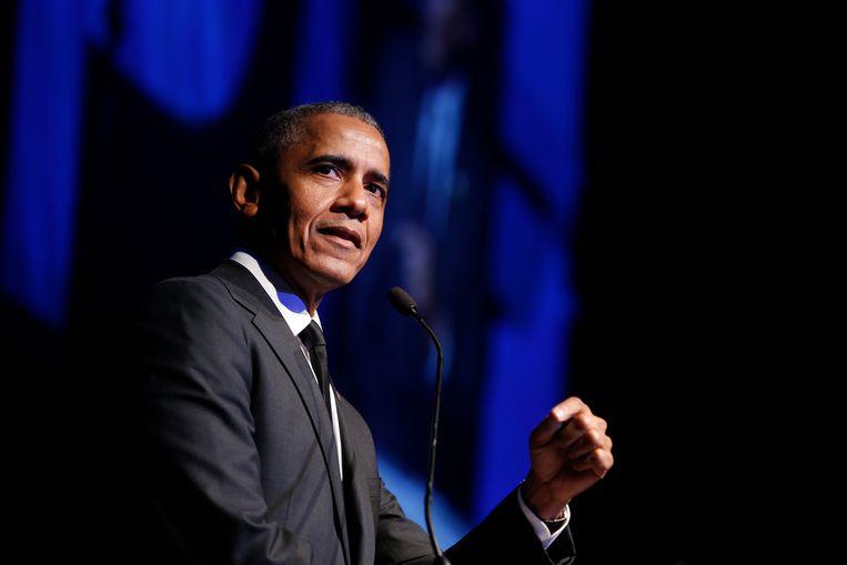 Archiefbeeld. Barack Obama Beeld AP