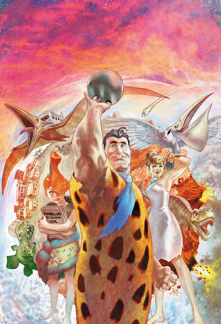 The Flintstones. Beeld RV DC Comics