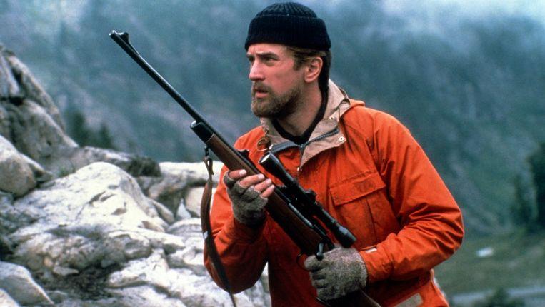 Robert De Niro in The Deer Hunter van Michael Cimino Beeld
