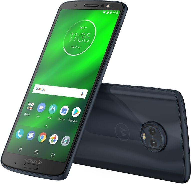De Moto G6 Plus Beeld Motorola