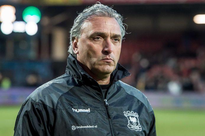 Robert Maaskant als trainer van Go Ahead Eagles.