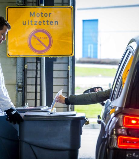 Drive-in stembureau Zuidplas scoort slechtst