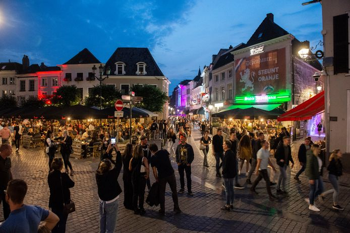 De eerste uitgaansnacht in Breda, nu twee weken geleden.