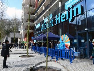 """Albert Heijn is terug in Leuven, al is het (nog) niet met een winkel: """"Maar we schuiven een kratje tussen de deur..."""""""