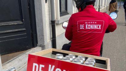 Stadsbrouwerij De Koninck levert versgetapt bier aan huis